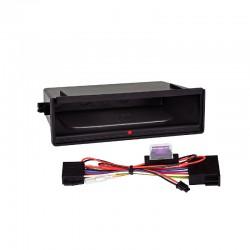 Cajetín Inbay® para marcos 2-DIN con faja metálica
