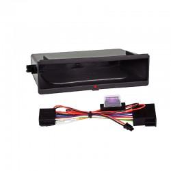 Cajetín Inbay® para marcos 2-DIN sin faja metálica